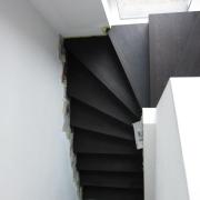 Belegen von Treppen mit Teppich, Parkett, Laminat, Kork, PVC oder Linoleum